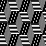 Reticolo geometrico senza giunte di arte op royalty illustrazione gratis