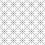 Reticolo geometrico senza giunte di vettore Struttura di griglia Fondo in bianco e nero Progettazione monocromatica illustrazione vettoriale