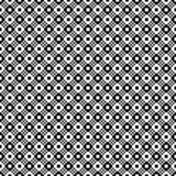 Reticolo geometrico senza giunte di vettore Struttura semplice dei quadrati Fondo in bianco e nero Progettazione monocromatica royalty illustrazione gratis