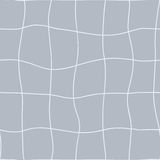 Reticolo geometrico senza giunte Linee punteggiate della mano ondulata di rete Vettore che ripete struttura con effetto di curvat illustrazione di stock