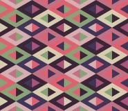 Reticolo geometrico senza giunte Stampa semplice geometrica Vettore che ripete struttura Immagini Stock