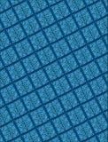 Reticolo geometrico sollevato delle mattonelle Fotografie Stock Libere da Diritti