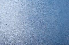 Reticolo ghiacciato su vetro Immagine Stock