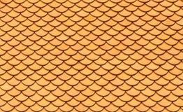 Reticolo giallo delle mattonelle, stile senza cuciture e orientale Immagine Stock Libera da Diritti
