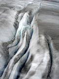 Reticolo glaciale del ghiaccio Fotografie Stock Libere da Diritti