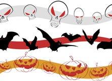 Reticolo Halloween illustrazione vettoriale