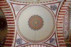 Reticolo islamico in moschea Immagine Stock