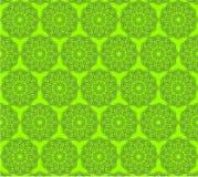 Reticolo islamico verde Immagini Stock