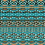 Reticolo - lana lavorata a maglia Immagini Stock Libere da Diritti
