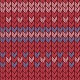 Reticolo lavorato a maglia senza giunte Fotografia Stock Libera da Diritti