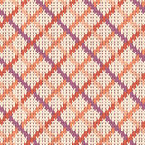 Reticolo lavorato a maglia senza giunte Immagini Stock Libere da Diritti