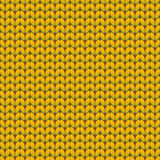 Reticolo lavorato a maglia senza giunte Panno di lana Struttura del Knit Illustrazione di vettore illustrazione di stock