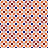 Reticolo marocchino Spazio organizzato pozzo Immagini Stock