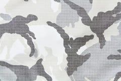 Reticolo militare del tessuto Fotografia Stock