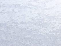 Reticolo naturale gelido sulla finestra di inverno Immagini Stock
