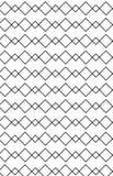 Reticolo nello zigzag con la riga in bianco e nero Fotografia Stock Libera da Diritti