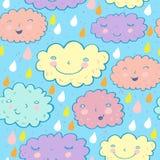 Reticolo nuvoloso senza giunte Fotografie Stock