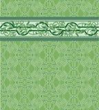 Reticolo per un tessuto, documenti, mattonelle con un decorat Fotografie Stock Libere da Diritti