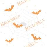 Reticolo/priorità bassa di Halloween royalty illustrazione gratis