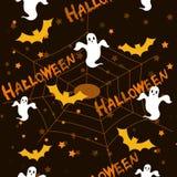 Reticolo/priorità bassa di Halloween Fotografia Stock
