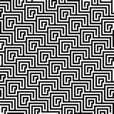 Reticolo quadrato in bianco e nero sottragga la priorità bassa Fotografia Stock