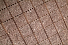Reticolo quadrato concreto Immagini Stock