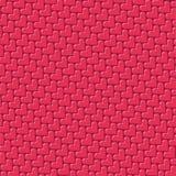 Reticolo rosso del cuore illustrazione di stock