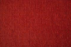 Reticolo rosso della tessile Immagine Stock