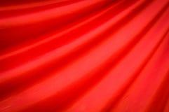 Reticolo rosso della tessile Fotografie Stock