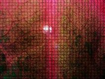 Reticolo rosso delle mattonelle Fotografie Stock
