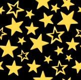 Reticolo senza cuciture con le stelle Fotografia Stock Libera da Diritti