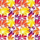Reticolo senza cuciture luminoso di stile dell'Hawai Immagini Stock Libere da Diritti