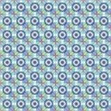 Reticolo senza giunte arabo Ornamenti orientali di stile del mosaico Vettore royalty illustrazione gratis