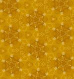 Reticolo senza giunte arancione astratto Fotografia Stock