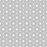 Reticolo senza giunte astratto Ornamento geometrico alla moda Fotografia Stock