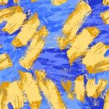 Reticolo senza giunte astratto Priorit? bassa decorativa di Grunge Art Rough Stylized Texture Banner con spazio per testo royalty illustrazione gratis