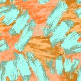 Reticolo senza giunte astratto Priorit? bassa decorativa di Grunge Art Rough Stylized Texture Banner con spazio per testo illustrazione di stock