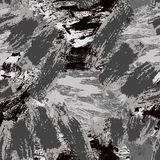 Reticolo senza giunte astratto Priorit? bassa decorativa di Grunge Art Rough Stylized Texture Banner con spazio per testo illustrazione vettoriale