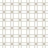 Reticolo senza giunte astratto Stampa di progettazione geometrica Carta da parati monocromatica maglia Rabescatura griglia illustrazione vettoriale