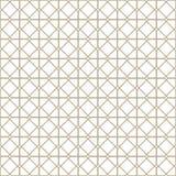 Reticolo senza giunte astratto Stampa geometrica di progettazione di modo Carta da parati monocromatica maglia Rabescatura illustrazione di stock