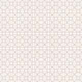 Reticolo senza giunte astratto Stampa geometrica di progettazione di modo Carta da parati monocromatica maglia Rabescatura royalty illustrazione gratis