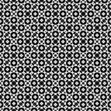 Reticolo senza giunte in bianco e nero Fotografie Stock