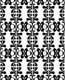 Reticolo senza giunte in bianco e nero fresco Fotografie Stock Libere da Diritti