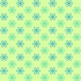 Reticolo senza giunte Colori verdi e blu affettuosi La struttura senza fine può essere usata per la stampa sul tessuto e carta o  Fotografia Stock Libera da Diritti