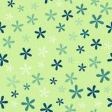 Reticolo senza giunte con i fiori Fotografie Stock