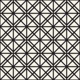 Reticolo senza giunte con i quadrati Struttura lineare geometrica alla moda di vettore Fotografia Stock Libera da Diritti