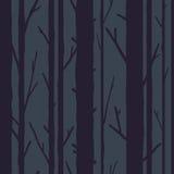 Reticolo senza giunte degli alberi Immagini Stock