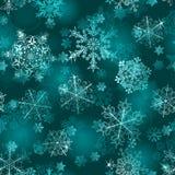 Reticolo senza giunte dei fiocchi di neve Immagini Stock