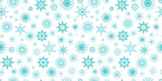 Reticolo senza giunte dei fiocchi di neve Struttura di ripetizione di inverno Priorità bassa della neve Carta da parati del model illustrazione di stock