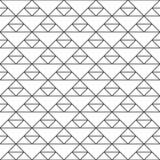 Reticolo senza giunte dei triangoli Grata insolita Backgr geometrico illustrazione di stock